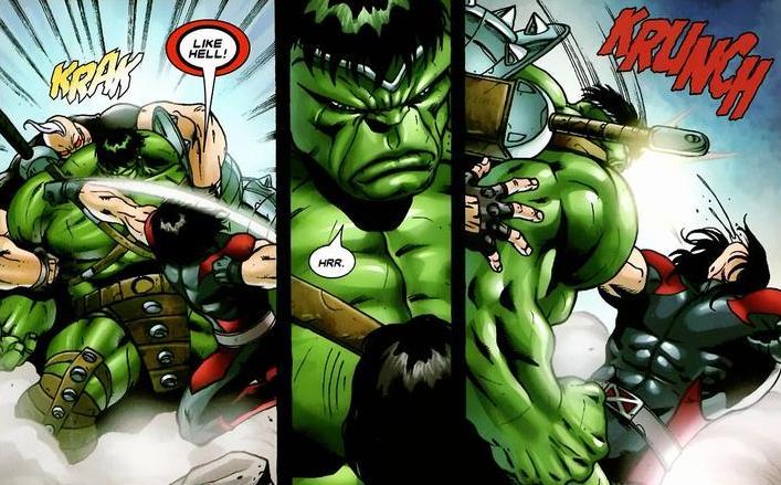 hulk vs x men arousing grammar