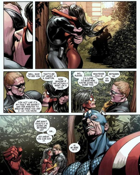 Hawkeye & Spider-Woman: a love story | Arousing Grammar