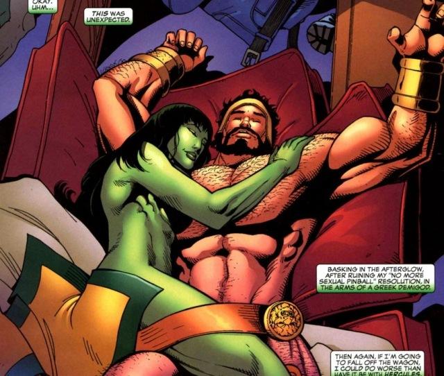She Hulk Loves Juggernaut Arousing Grammar