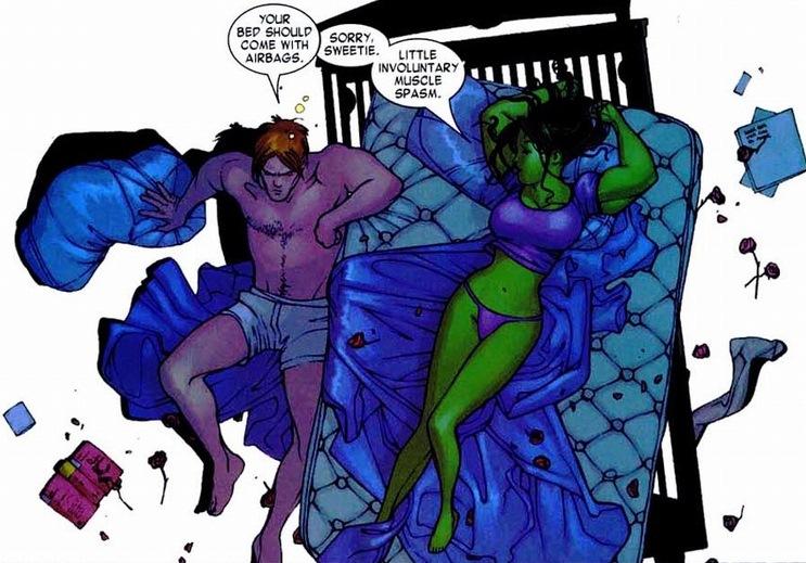Sex With She Hulk
