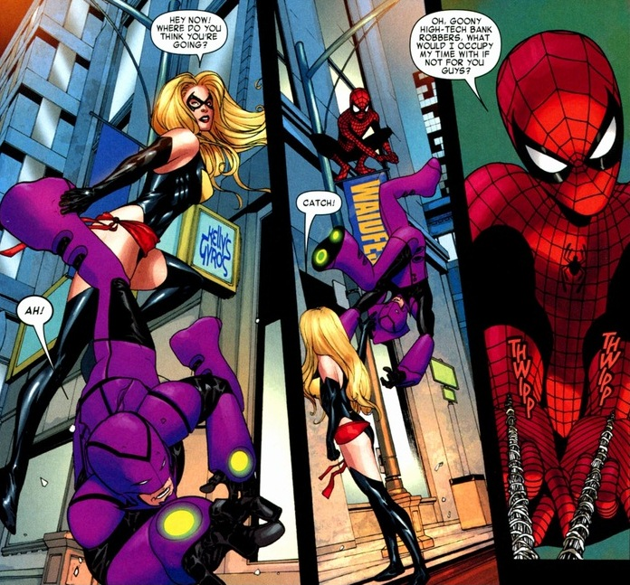 First date with Spider-Man & Ms  Marvel | Arousing Grammar