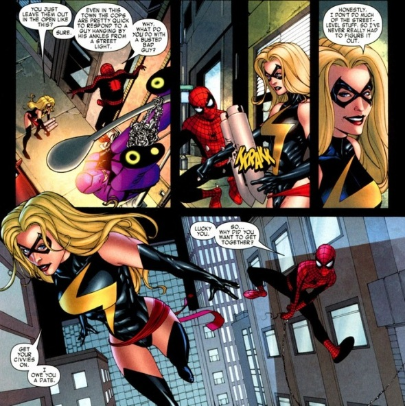 captain america and ms marvel relationship