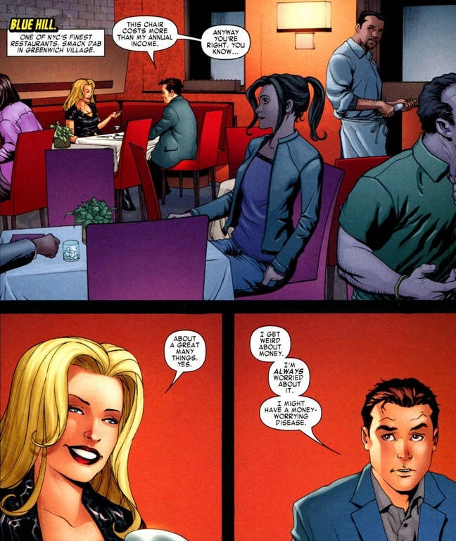 who did peter parker date first