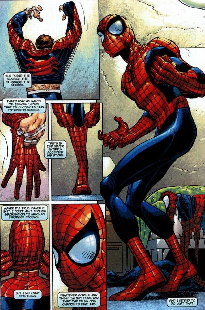 Morlun spiderman - photo#22
