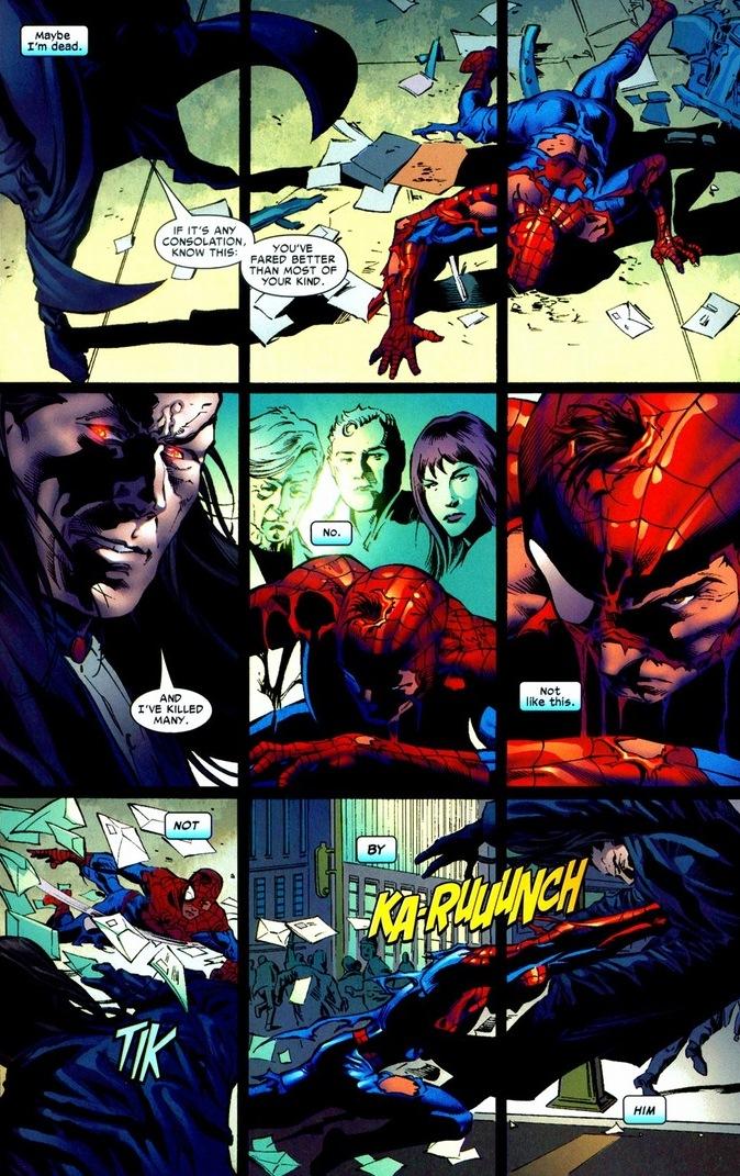 Morlun spiderman - photo#10