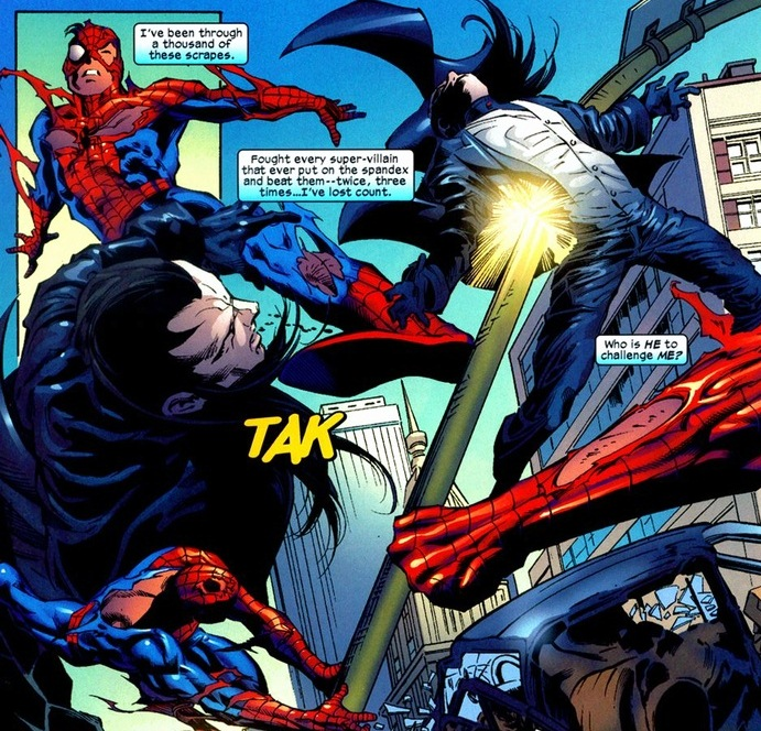 Morlun spiderman - photo#21