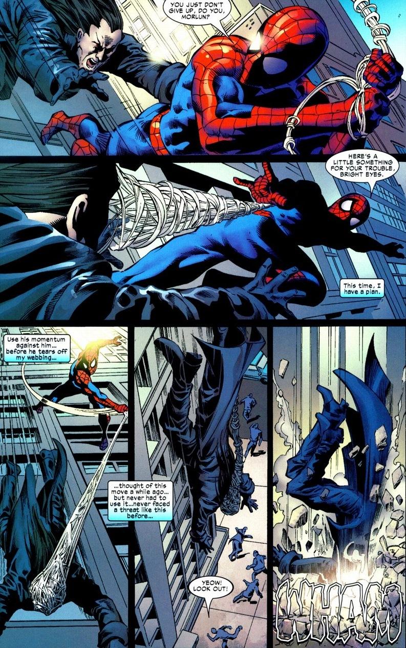 Morlun spiderman - photo#27