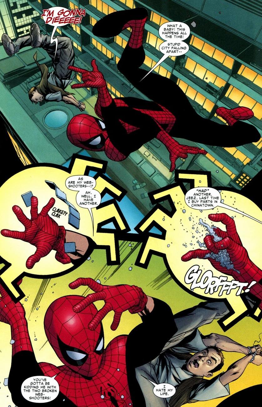 Spider-Man & Black Cat's web-fling | Arousing Grammar