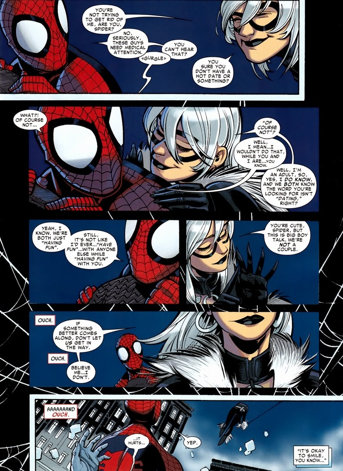Spider-Man & Black Cat's web-fling | Arousing Grammar