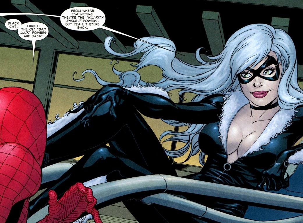 Spiderman In Black Cats Suit