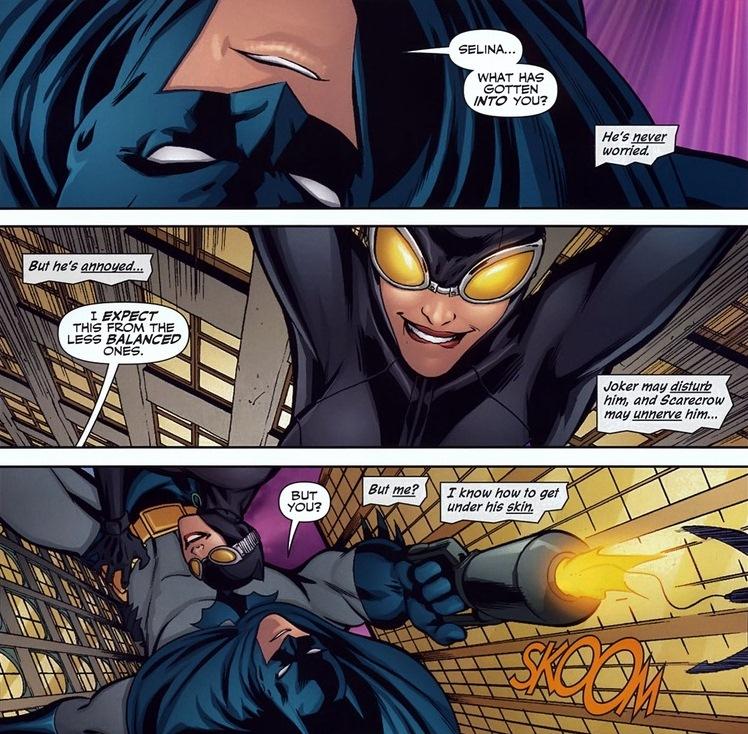 Catwoman Loves Batman Arousing Grammar