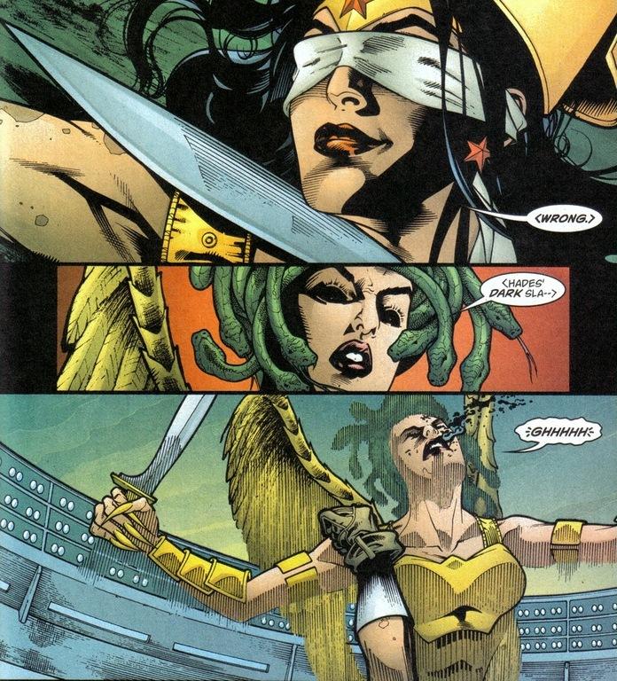 Wonder Woman's Medusa rumble, Pt. 2   Arousing Grammar