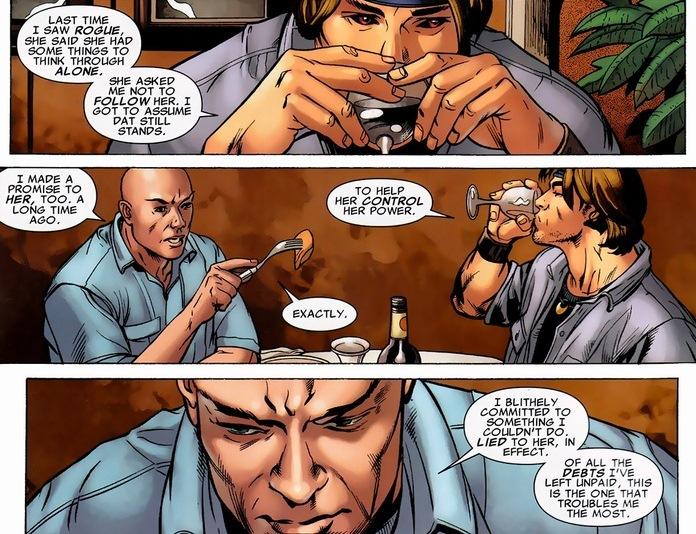 Gambit s been travelin...