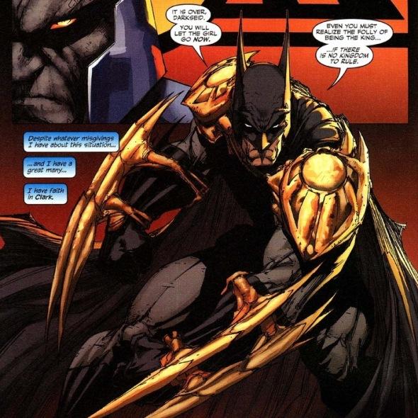 Superman and the Darkseid beatdown | Arousing GrammarApokolips Smallville