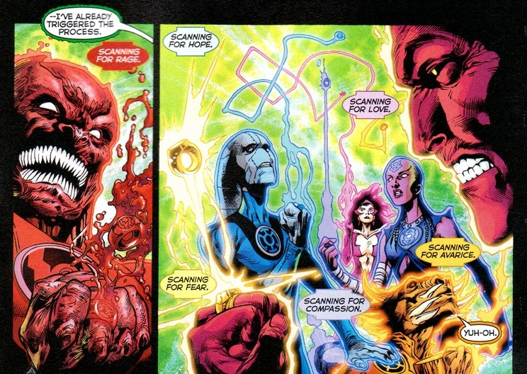 Yellow lantern corps members the sinestro corps the yellow