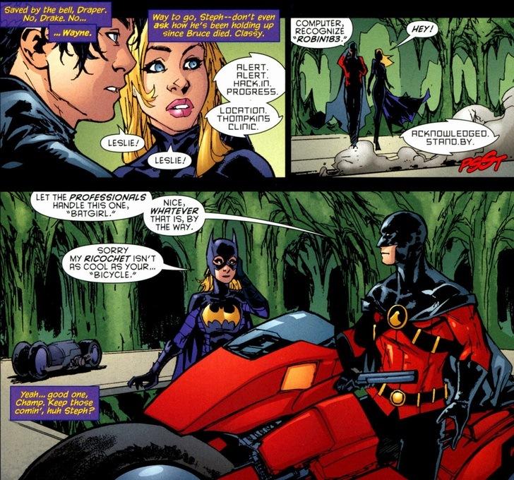 Batgirl and robin romance - photo#9