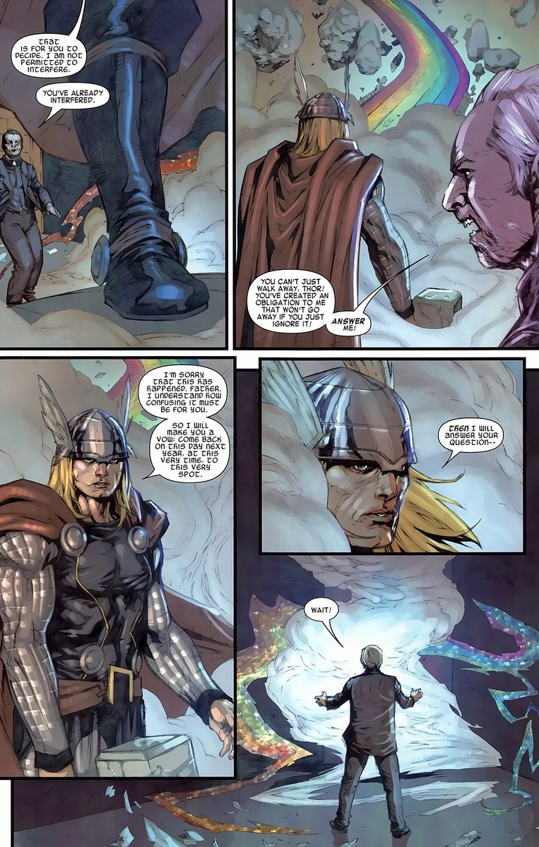 thor s the guy Thor, iron man and captain america have finished their respective stories before they were forced to confront thanos and are now approaching an unknown future after ten years, there is a sense of finality for many of the core characters.