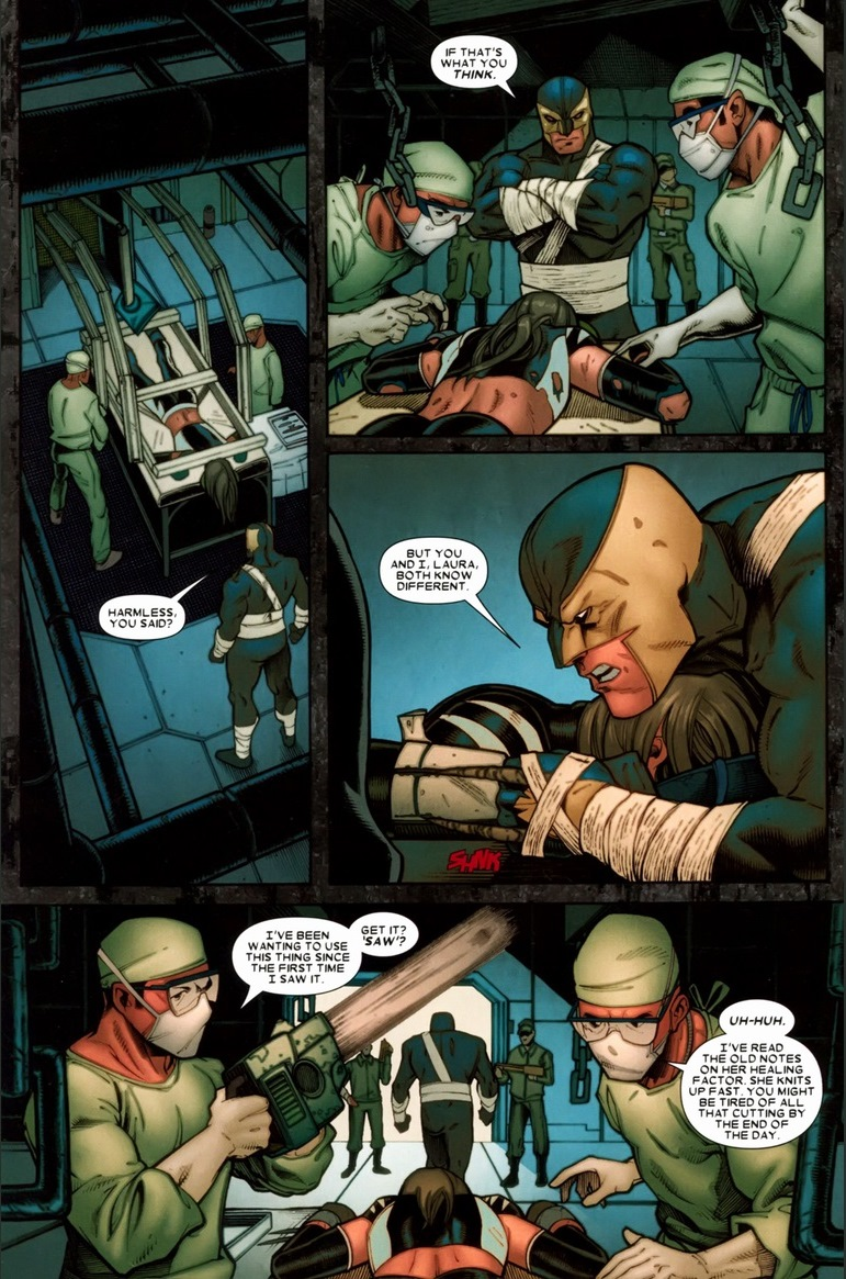 You see what Daken did  Someone has ulterior motives that doesn   t    X 23 Daken