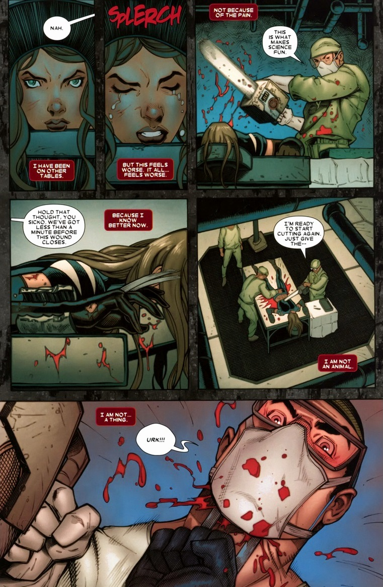 Daken & X-23 hang out, claw stuff | Arousing Grammar X 23 Marvel