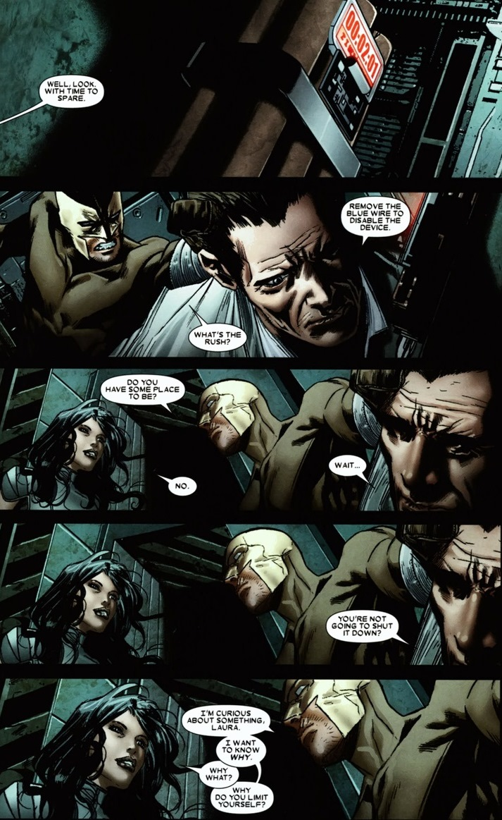 Daken & X-23 hang out, claw stuff | Arousing Grammar X 23 Daken