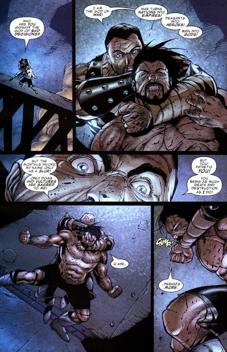 Hercules vs. Ares | Arousing Grammar