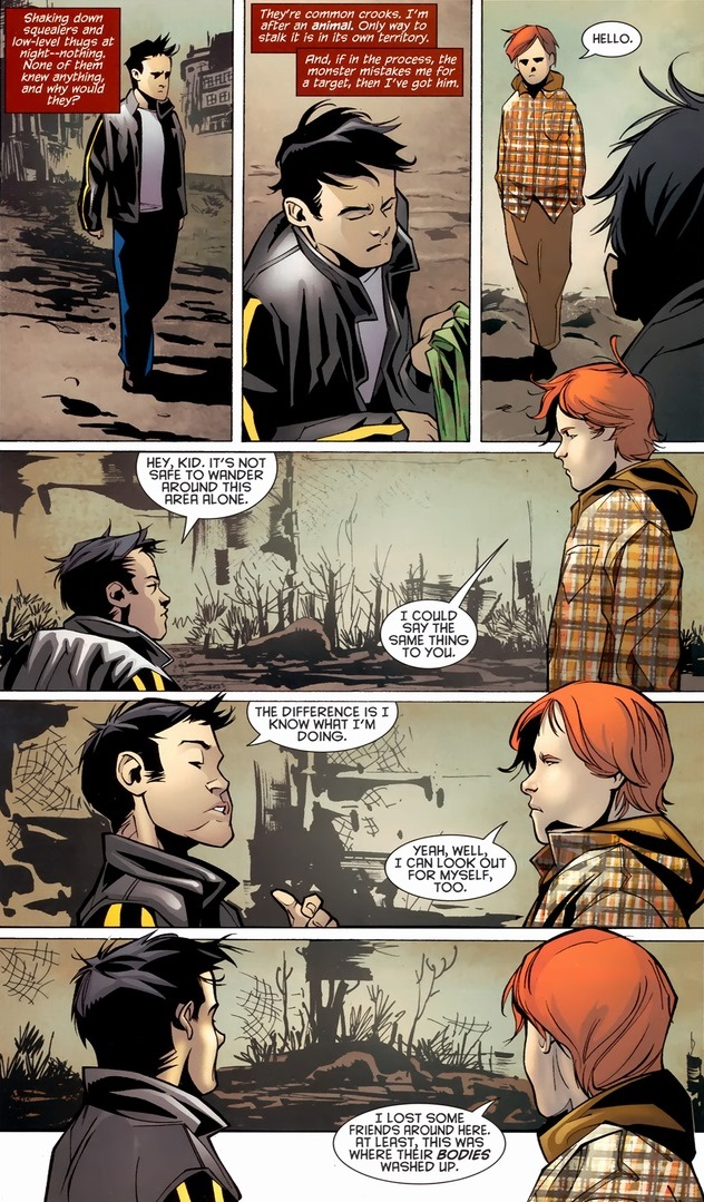 Robin And Zsasz In The Child Arena Arousing Grammar