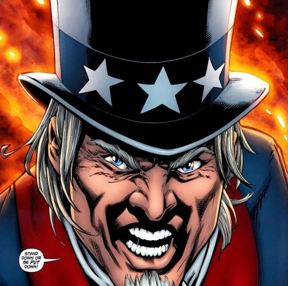 A Better America With Uncle Sam Arousing Grammar