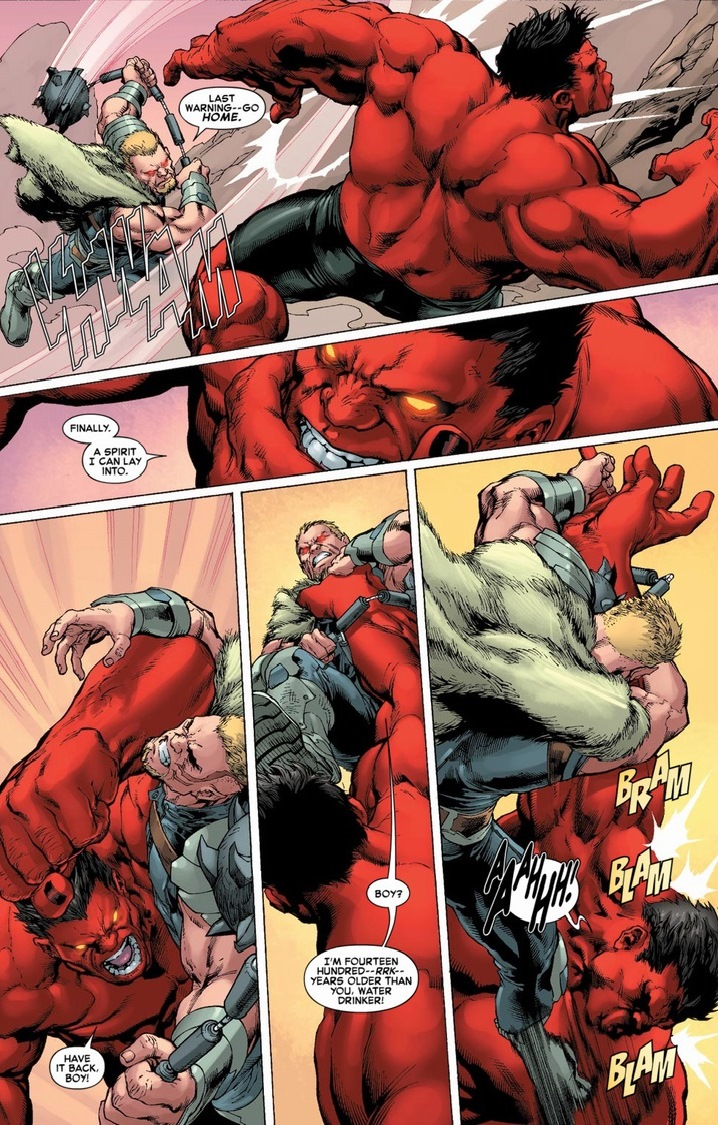 The exorcism of red hulk arousing grammar - Pictures of red hulk ...