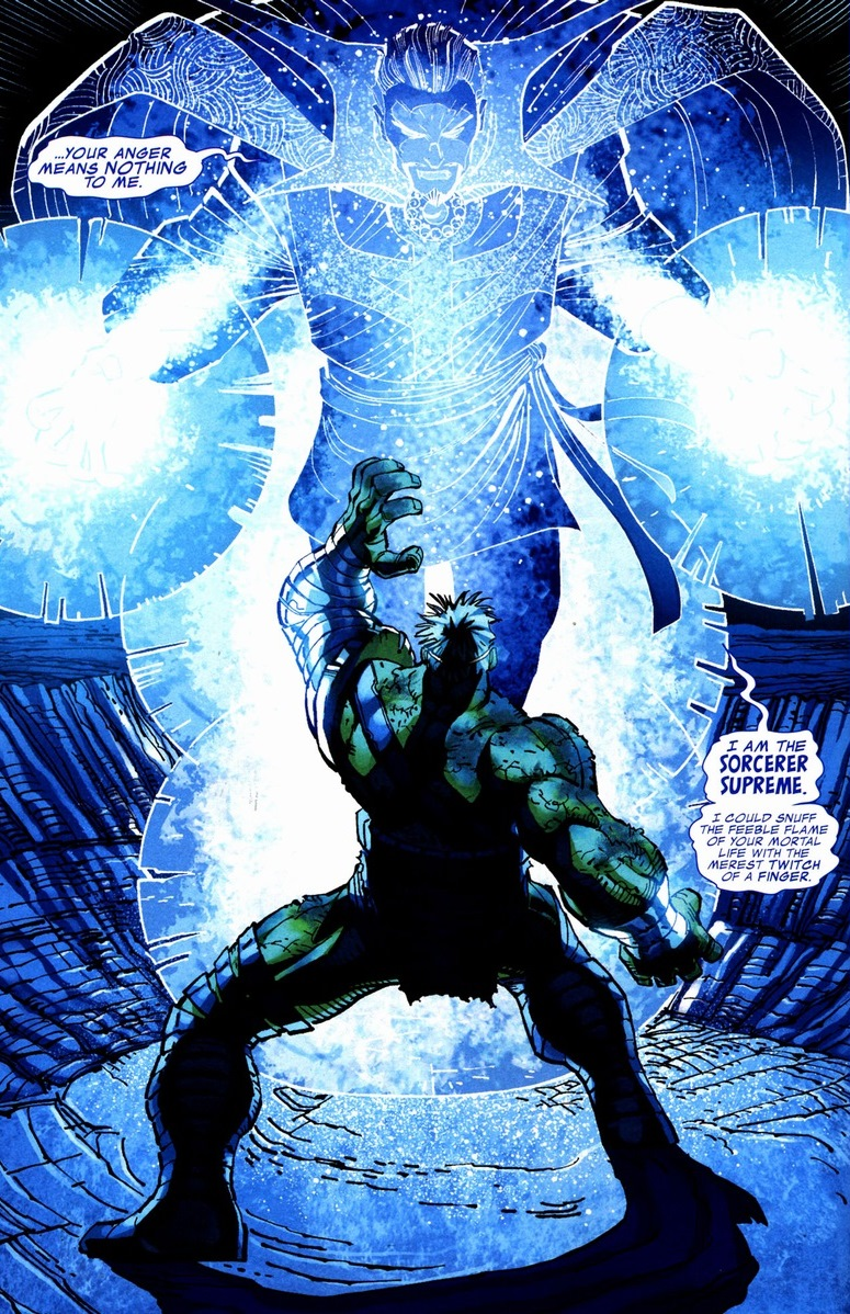 Image result for doctor strange vs hulk