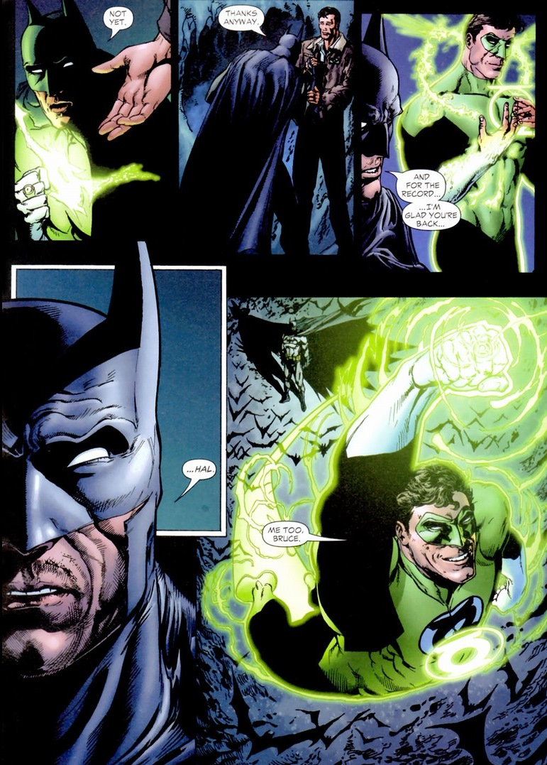 justice league green lantern and batman relationship