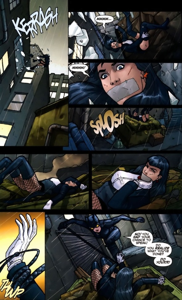 Catwoman, Batman, Zatanna, and the mind-wipe, Pt. 1 ...