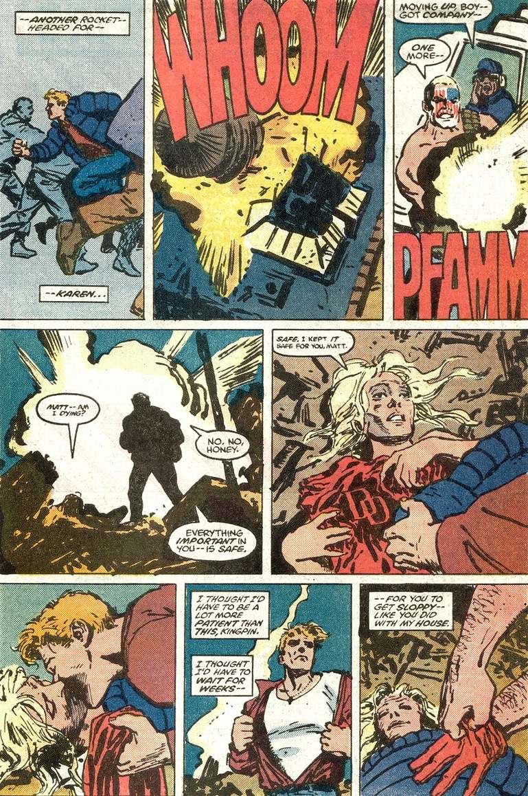 Marvel Daredevil Hell S Kitchen Destruction