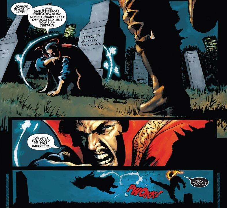 Lucifer Marvel: Ghost Rider Vs. Doctor Strange