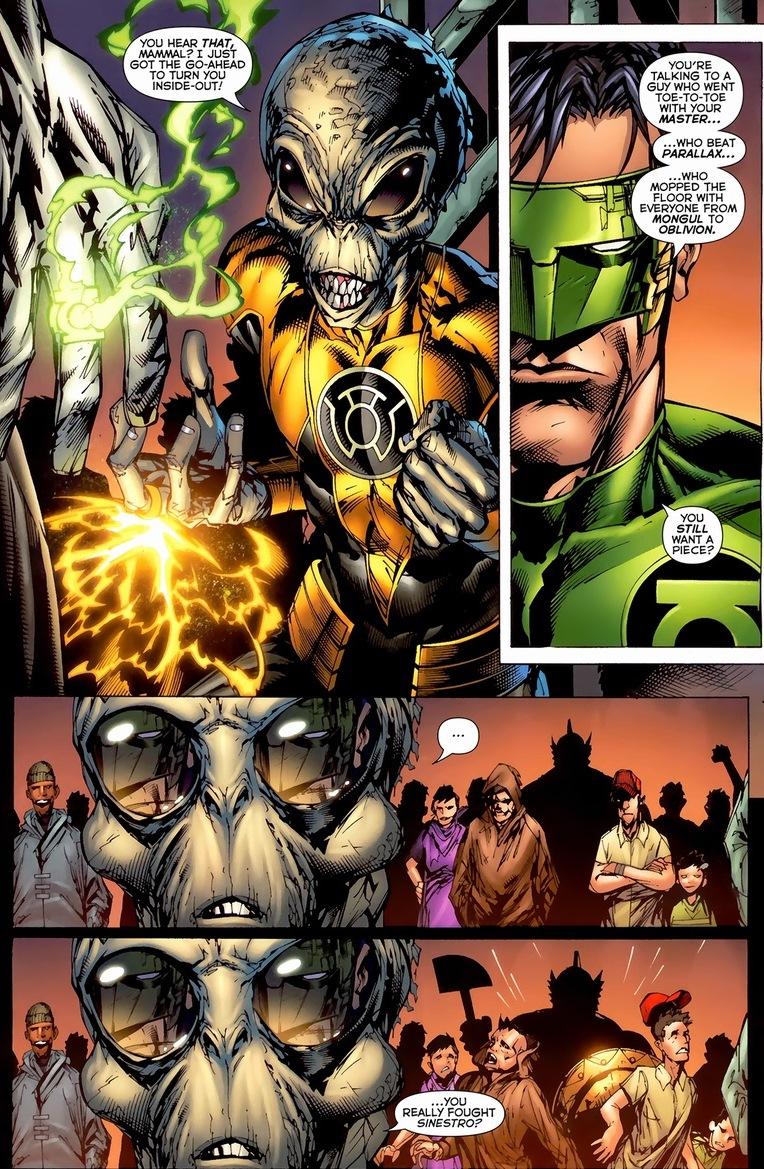 Green Lantern Vs Sinestro Vs Weaponer Pt 1 Arousing