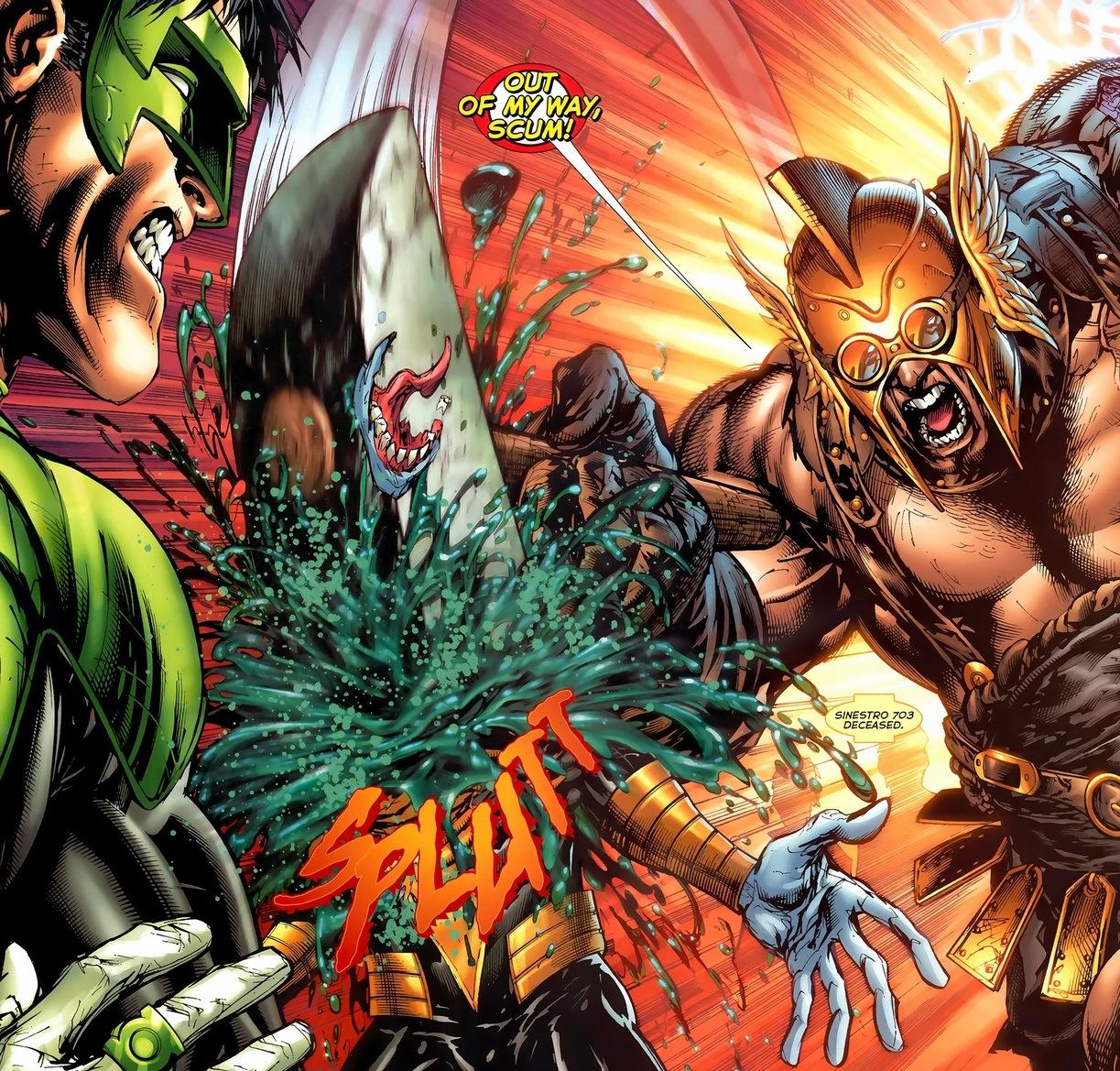 produkty wysokiej jakości w magazynie super tanie Green Lantern vs. Sinestro vs. Weaponer, Pt. 1 | Arousing ...