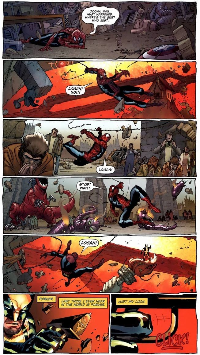 Wolverine, Spider-Man vs. Planet Doom | Arousing Grammar