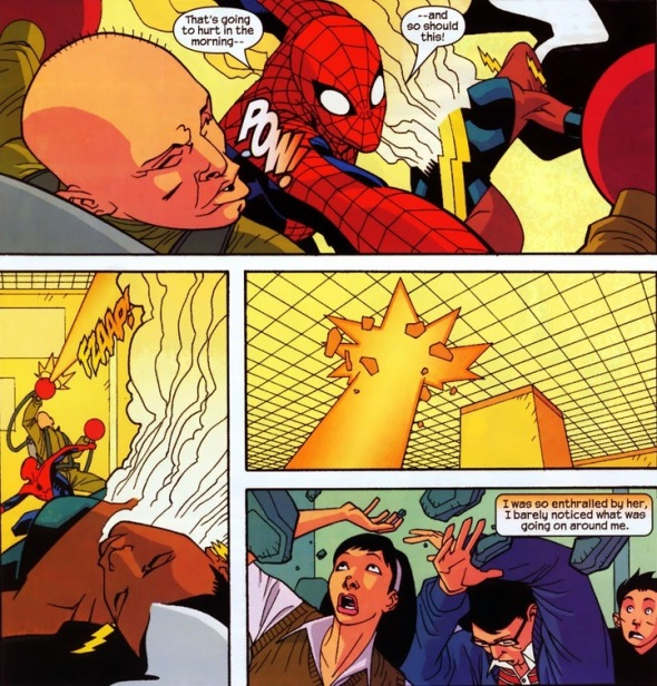 SpiderManBankLove6