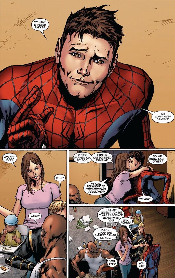 Peter Parker Spider Man Arousing Grammar