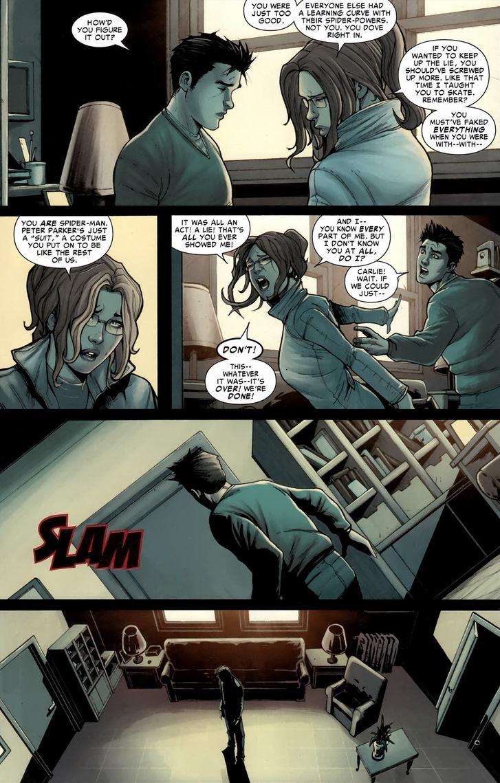 Peter Parker is Spider-Man | Arousing Grammar
