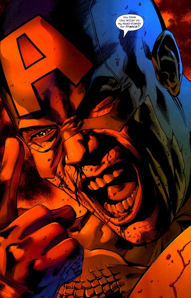 captain america as a rhetorical superhero essay Godard's comic strip mise-en-scène drew morton  or batman and captain america taking out their  as his theory of montage and mise-en-scène in his essay.