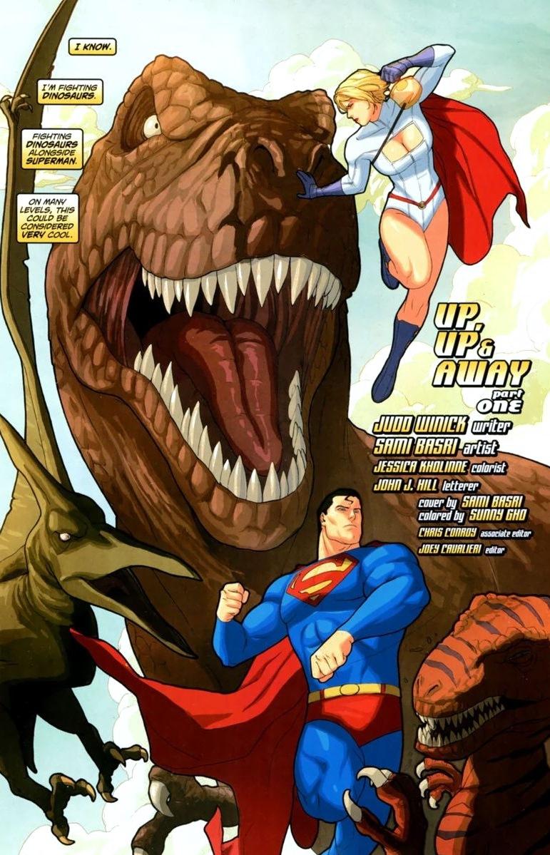 persons power comics John girl