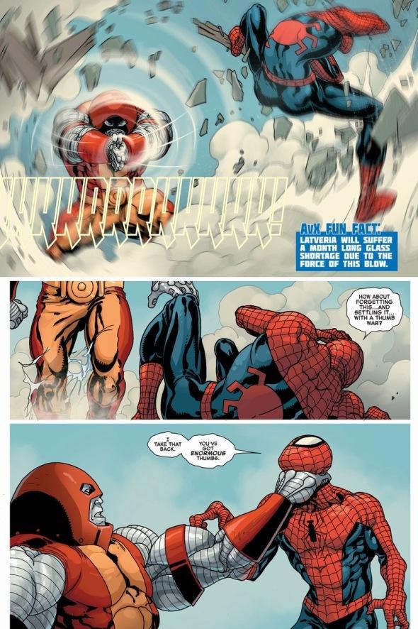 SpiderManColossusBattle4