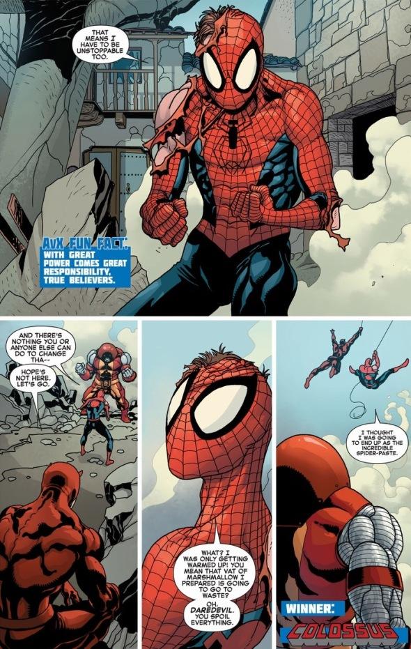 SpiderManColossusBattle8