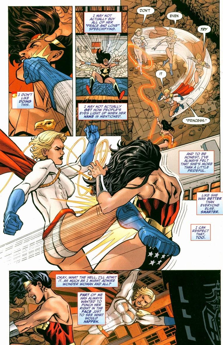 Wonder Woman Vs Power Girl  Arousing Grammar-8294