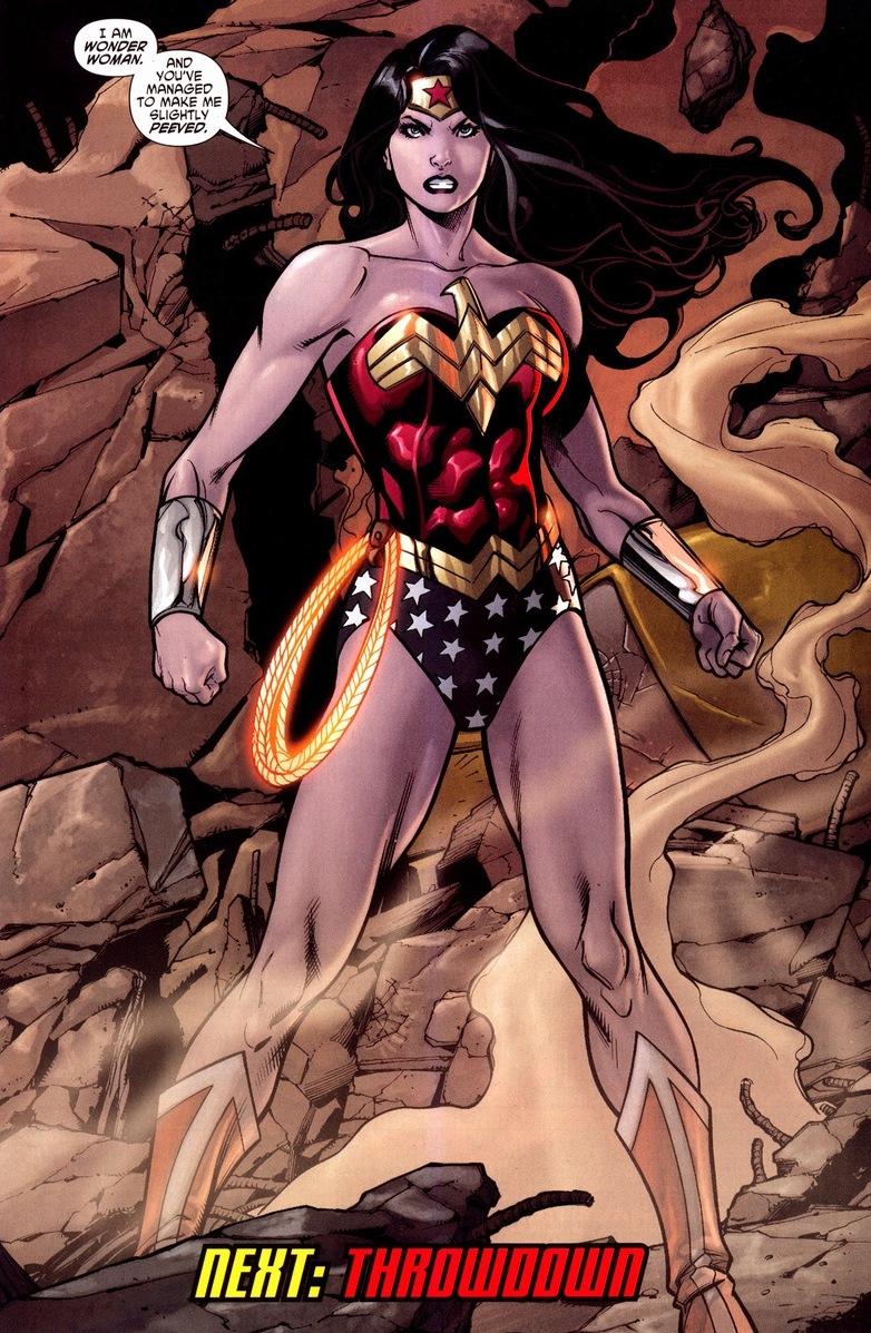 Wonder Woman Vs Power Girl  Arousing Grammar-7893