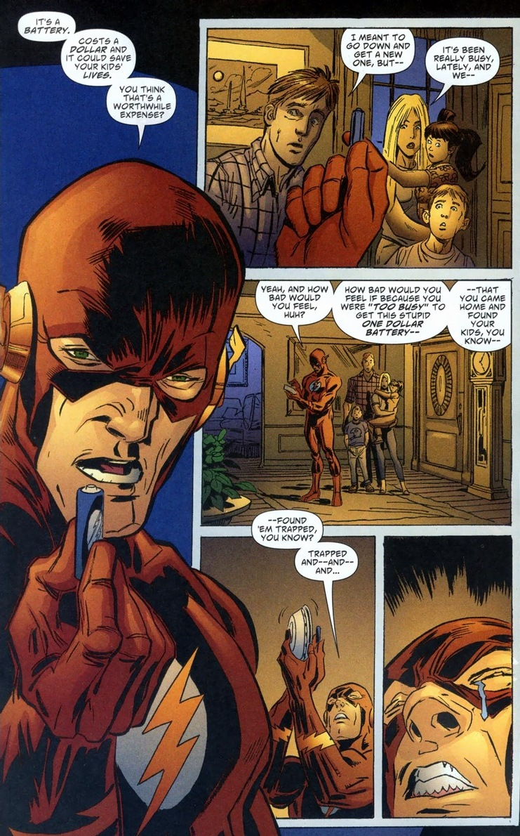 Sad Jla Flash Arousing Grammar