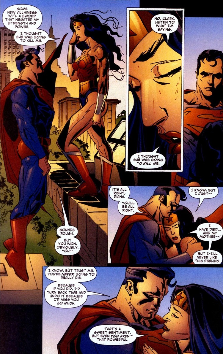 Superman Does Wonder Woman