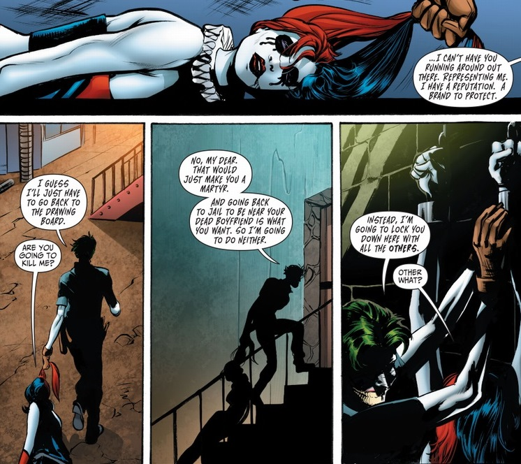 batman and harley relationship counseling