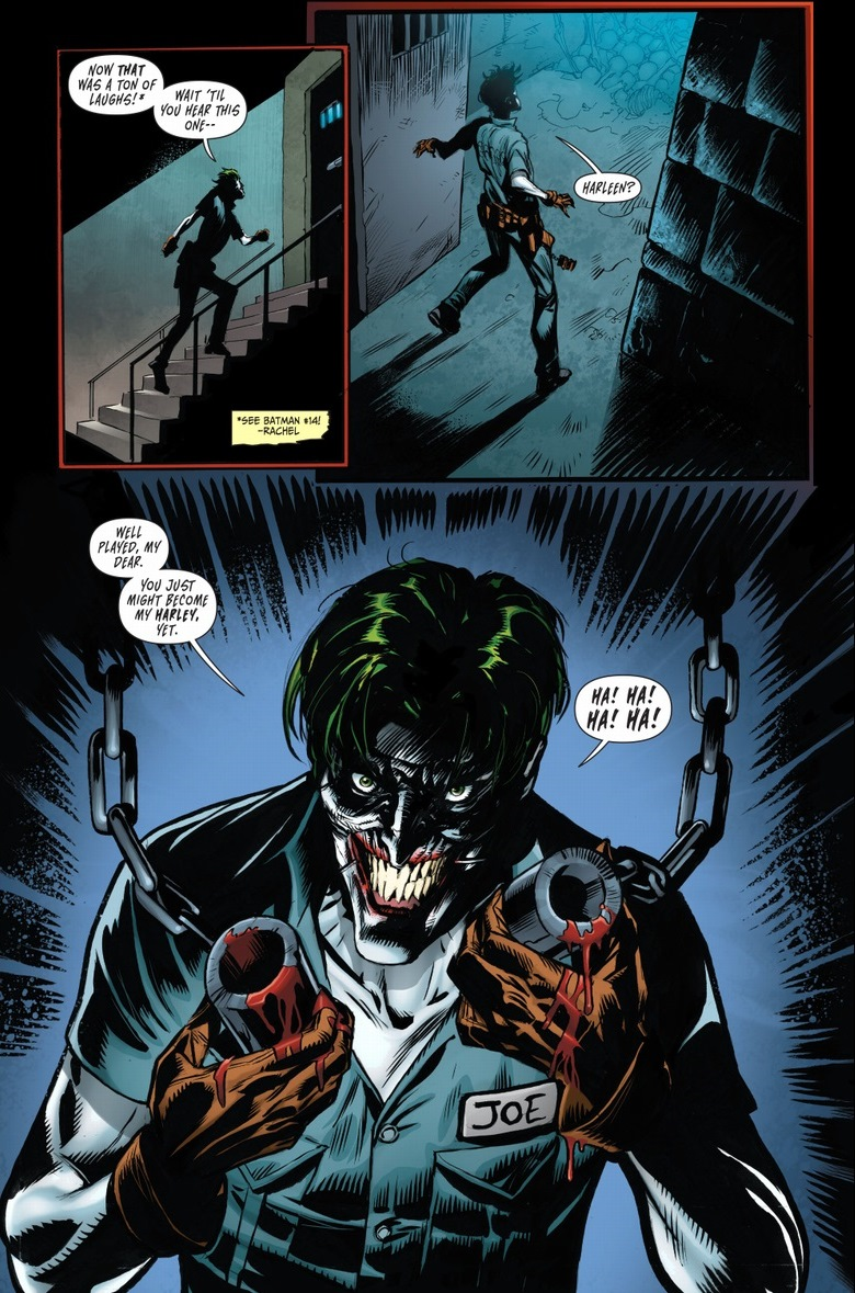 New 52 Harley Quinn And Joker Nothing romantic about...