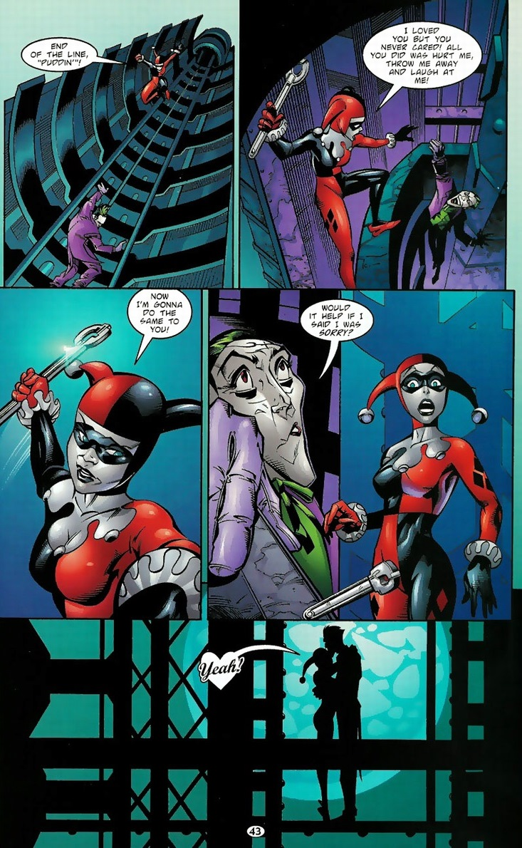 batman and harley relationship